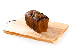 Fresh bread on the wooden board Royalty Free Stock Photos