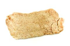 Fresh, Breaded Chicken Breast Stock Photo