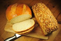 Fresh Breads Royalty Free Stock Images