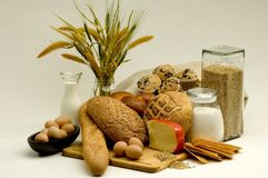 Fresh Breads Stock Photo