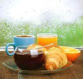 Fresh breakfast Royalty Free Stock Image