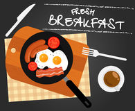 Fresh Breakfast Royalty Free Stock Images