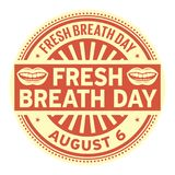 Fresh Breath Day Stock Photography