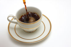 Fresh brew stock images