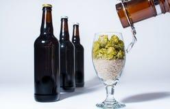 Fresh brew on tap Stock Photos