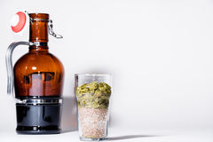 Fresh brew on tap Royalty Free Stock Photos