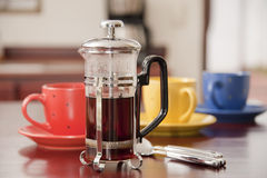 Fresh Brewed Coffee Stock Photography