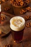 Fresh Brewed Oktoberfest Autumn Ale Royalty Free Stock Image