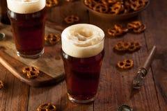 Fresh Brewed Oktoberfest Autumn Ale Stock Images
