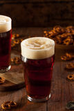 Fresh Brewed Oktoberfest Autumn Ale Royalty Free Stock Photo