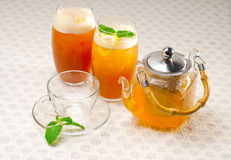 Fresh selection of tea Royalty Free Stock Photos
