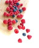 Fresh bright red berries. Macro Royalty Free Stock Photos
