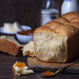 Fresh brioche Royalty Free Stock Images