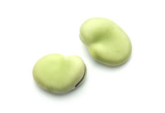 Fresh Broad Beans Royalty Free Stock Photos