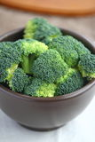 Fresh  broccoli. A bowl of fresh broccoli Stock Photo