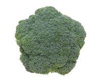Fresh broccoli. Close up of fresh raw broccoli isolated on white background Stock Photo