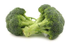 Fresh broccoli florets Stock Photo