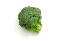 Fresh Broccoli Head Royalty Free Stock Image