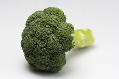 Fresh Broccoli isolated on a over white background Royalty Free Stock Photos