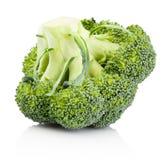 Fresh broccoli isolated on white background. Fresh broccoli isolated on a white background stock image