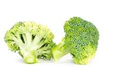 Fresh broccoli isolated on white Royalty Free Stock Photo