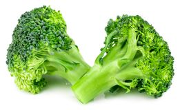 Fresh broccoli isolated on white background. With clipping path. Full depth of field Stock Image