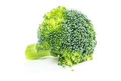 Fresh broccoli isolated on white background. Fresh raw broccoli isolated on white background Stock Photo