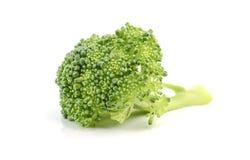 Fresh broccoli on white background.  Stock Photo