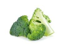Fresh brocoli. On white background royalty free stock images