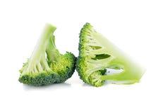 Fresh brocoli. On white background royalty free stock photo