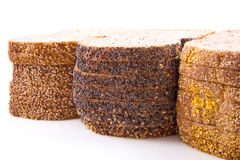 Fresh brown bread Stock Image