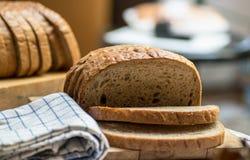 Fresh brown bread Royalty Free Stock Photos