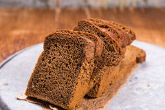 Fresh brown bread Stock Images