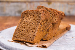 Fresh brown bread Royalty Free Stock Images