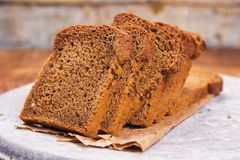 Fresh brown bread Royalty Free Stock Photography