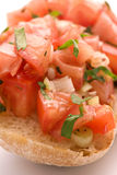 Fresh Bruschetta Stock Images