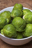 Fresh Brusells sprouts. Stock Photo