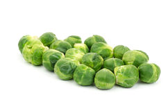 Fresh brussels sprout Royalty Free Stock Image