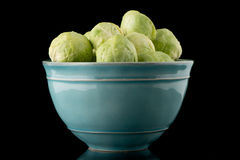 Fresh brussels sprouts Royalty Free Stock Photo