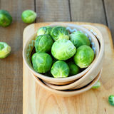 Fresh brussels sprouts, ingredients Stock Photography