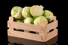 Fresh brussels sprouts Stock Photography
