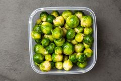 Fresh brussles sprouts Stock Images