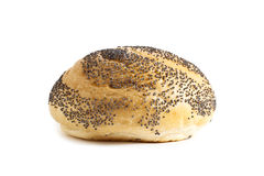 Fresh bun with black sesame seeds Royalty Free Stock Photo