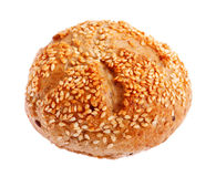 Fresh bun with sesame Stock Photography