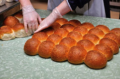 Fresh buns Stock Photo