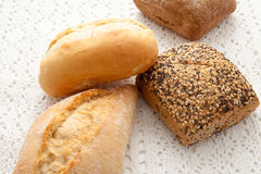 Fresh buns Stock Images