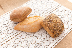 Fresh buns Royalty Free Stock Image