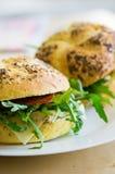 Fresh burger Royalty Free Stock Photography