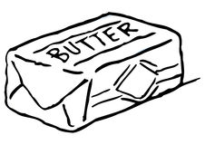 Free Fresh Butter Royalty Free Stock Photography - 8146917