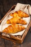 Fresh butter croissants Stock Image